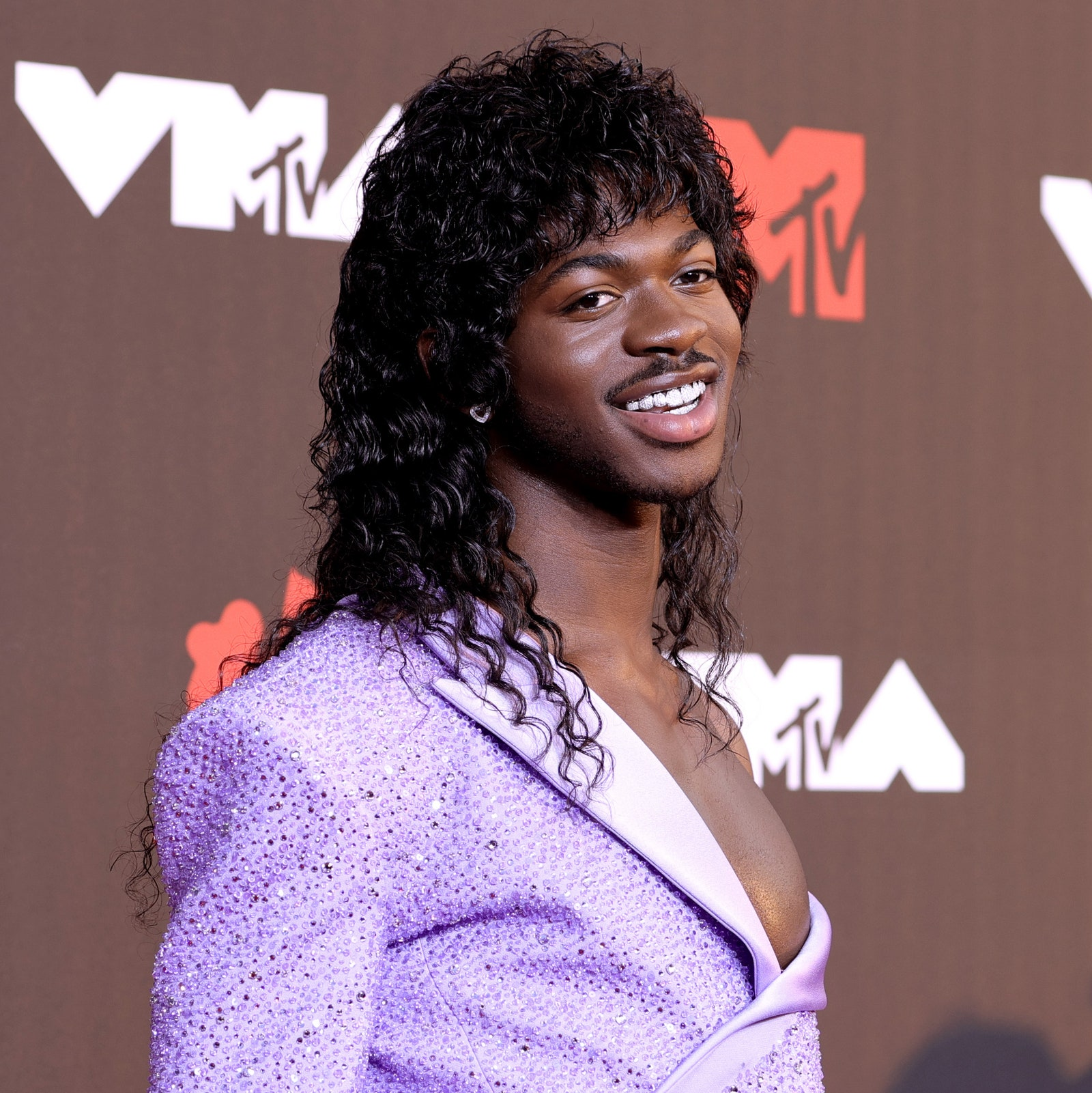 Lil Nas X attends the 2021 MTV Video Music Awards